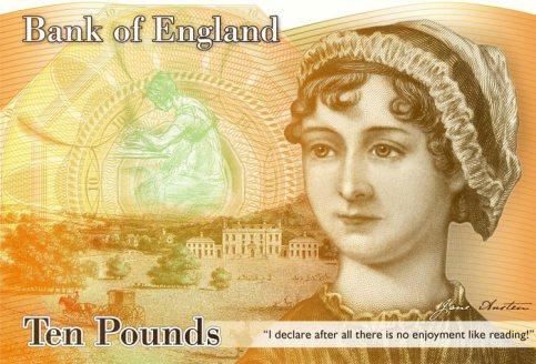 Jane Austen banknote
