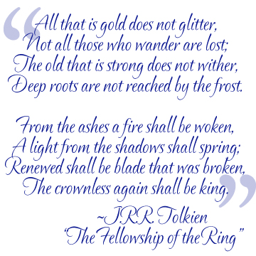 Quotables The Fellowship of the Ring