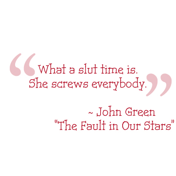 Quotables The Fault in Our Stars
