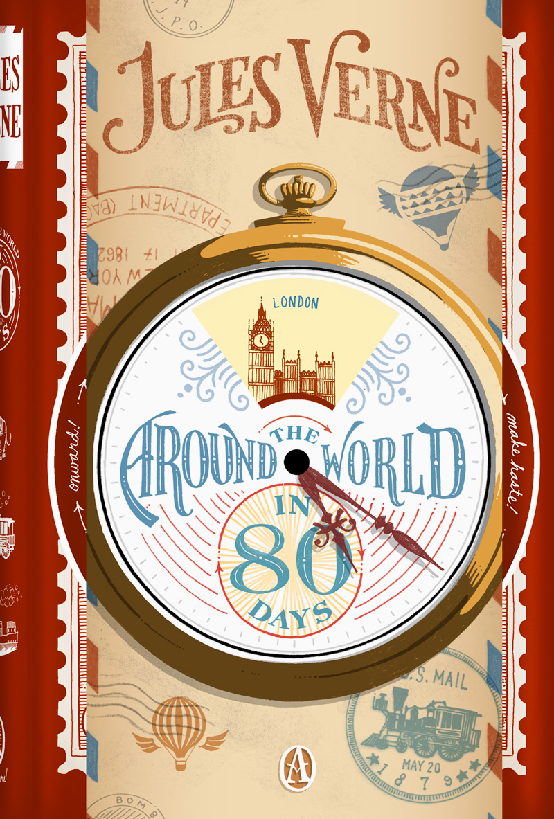 an analysis of around the world in eighty days a novel by jules verne Dive deep into jules verne's around the world in eighty days with extended analysis, commentary, and discussion.