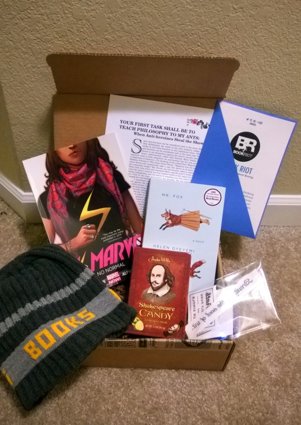 Book Riot Quarterly Box #5