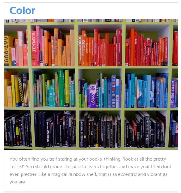 Organize Bookshelf