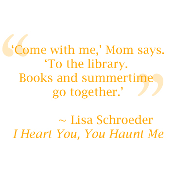 Quote by Lisa Schroeder