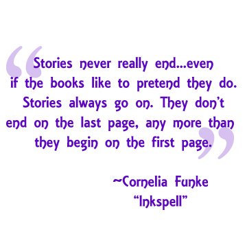Quote from Inkspell by Cornelia Funke