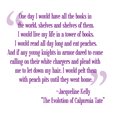 Quote from The Evolution of Calpurnia Tate