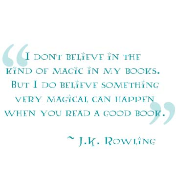 Quote by JK Rowling