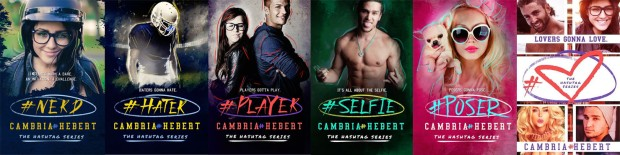 The Hashtag Series book covers
