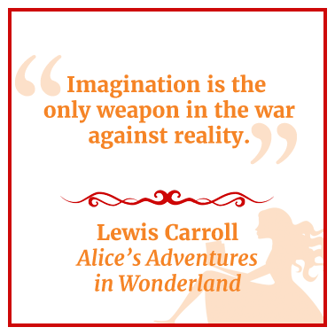 Quote from Alice's Adventures in Wonderland
