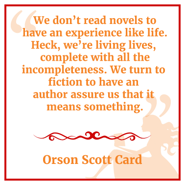 Quotables Orson Scott Card