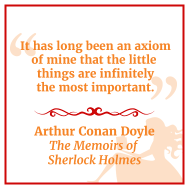 Quote from The Memoirs of Sherlock Holmes