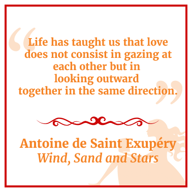 Quote from Wind, Sand and Stars by Antoine de Saint Exupery