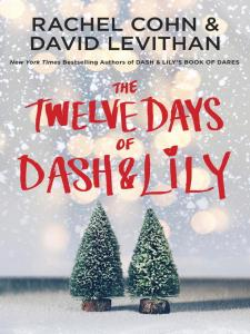 The Twelve Days of Dash and Lily book cover