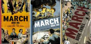 March Trilogy book covers