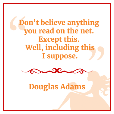 Quote from Douglas Adams