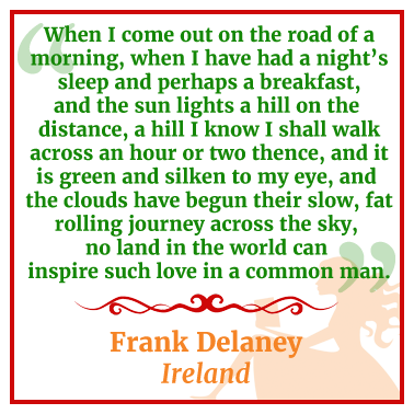 quote from Ireland by Frank Delaney
