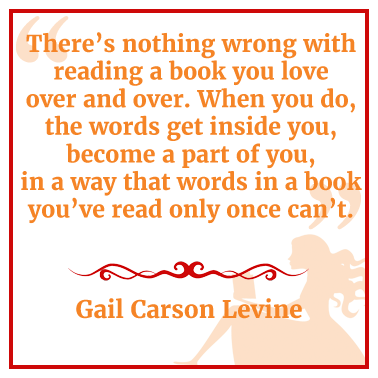 Quote by Gail Carson Levine