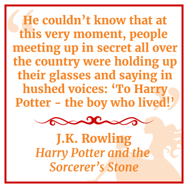 Quote from Harry Potter and the Sorcerer's Stone by J.K. Rowling