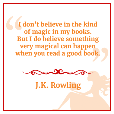 Quote from J.K. Rowling about magic