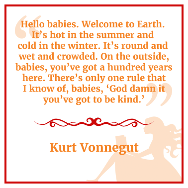Quote by Kurt Vonnegut