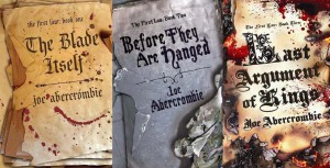 The First Law Trilogy book covers
