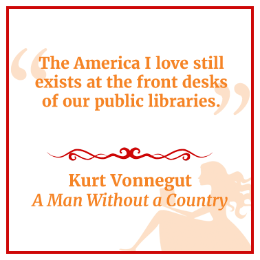 Quote from A Man Without a Country by Kurt Vonnegut